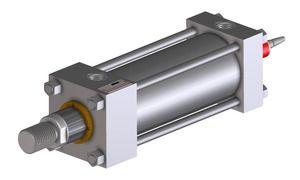 Cilindro con sensore magnetosonico